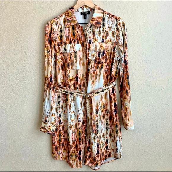 JESSICA SIMPSON Emerson Canyon Sundaze Dress small